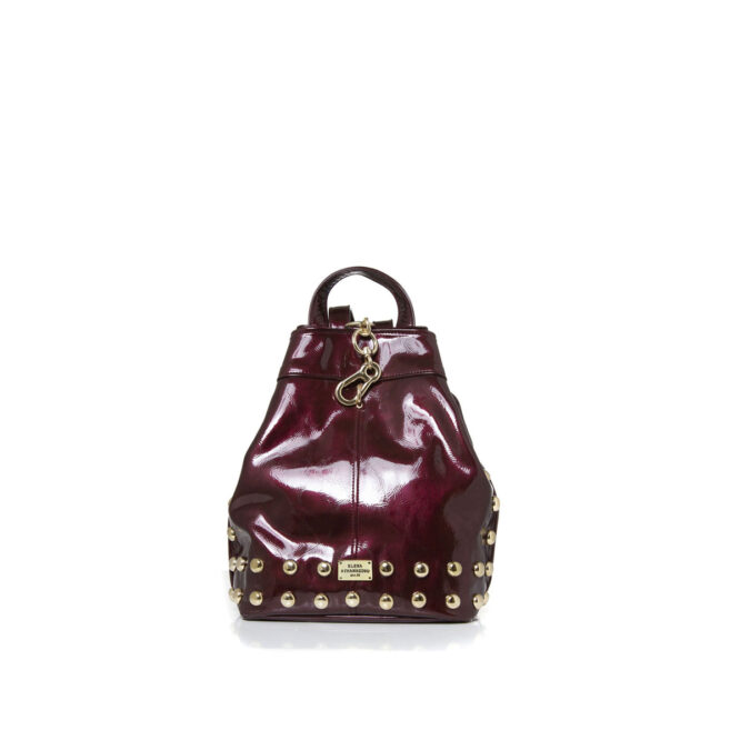 Backpack Vinyl Burgundy