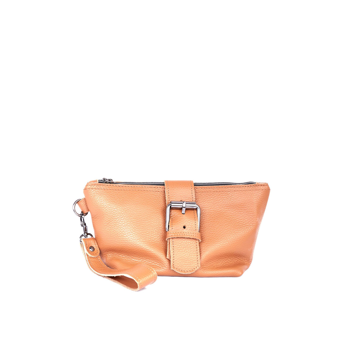 Day to Evening Clutch Cognac