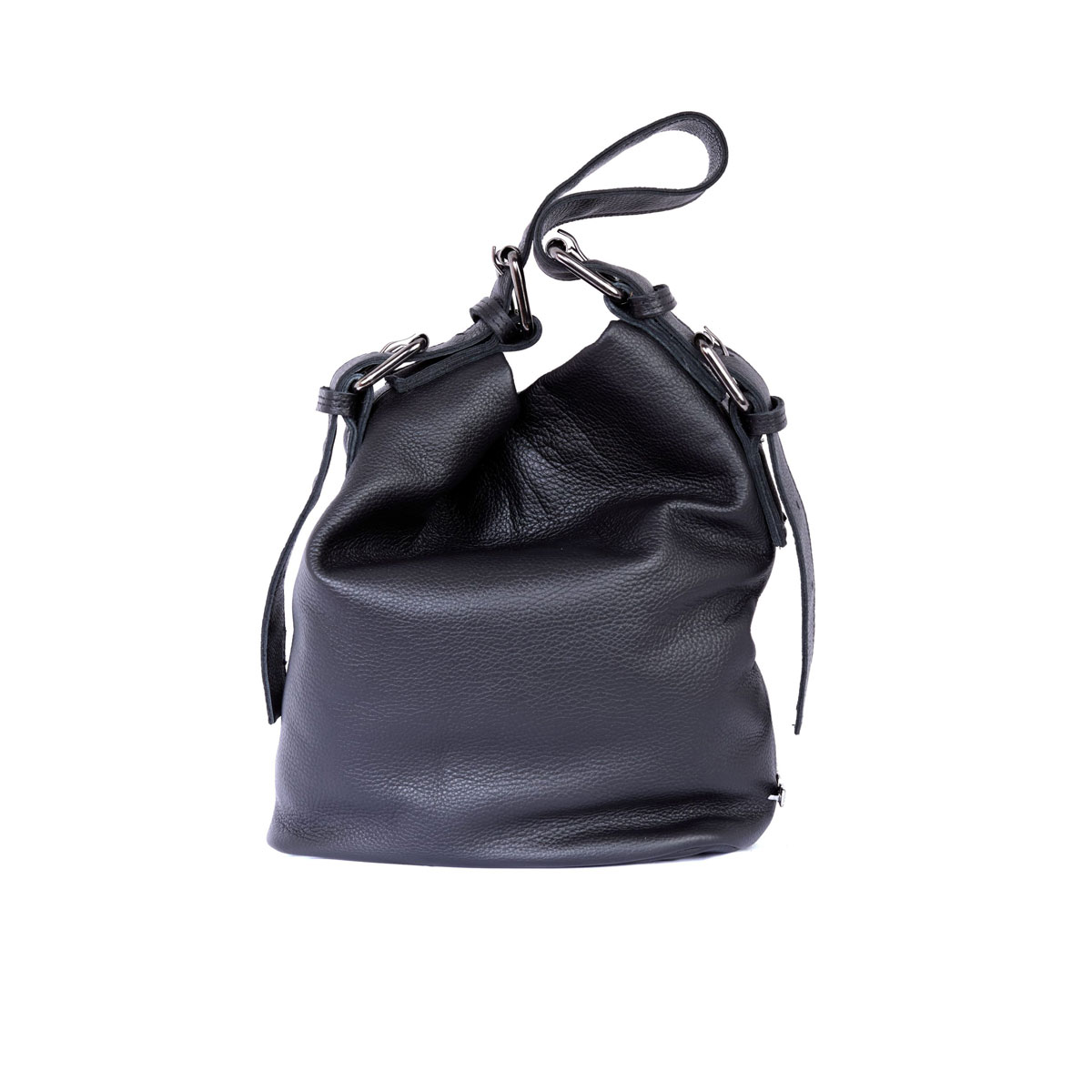 Day to Evening Pouch Bag L Black