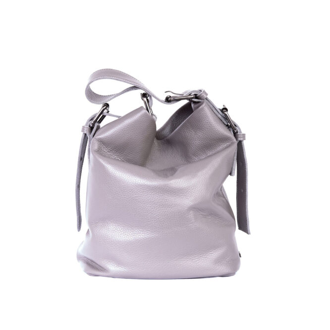 Day to Evening Pouch Bag L Grey