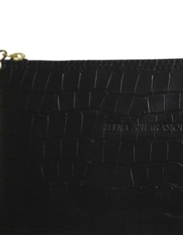 Clutch Croco Black