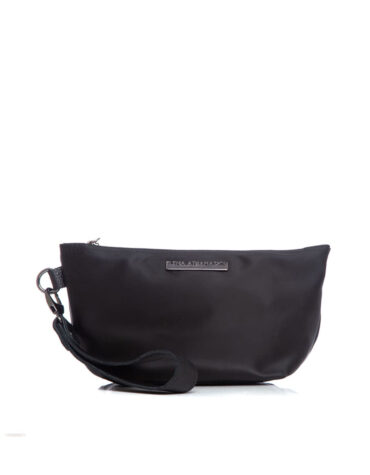 Satin Clutch Black