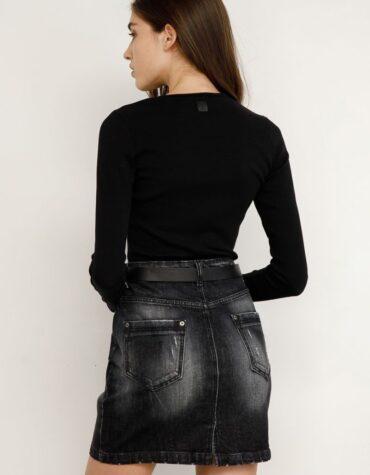 Renifer Denim Skirt