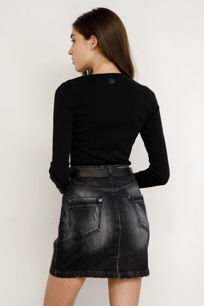 Renifer Denim Skirt