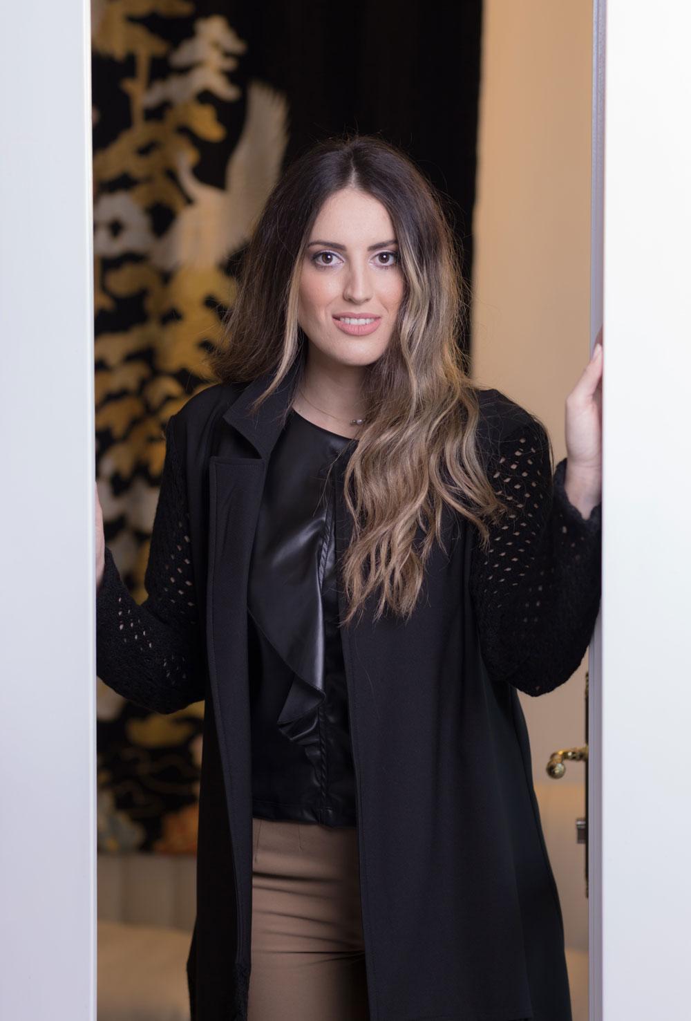 Ζακέτα μαύρη Fia Fashion
