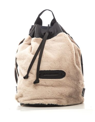 Fluffy Backpack Mocha