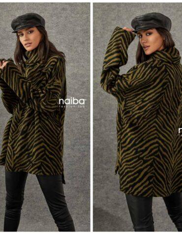 Naiba zebra blouse