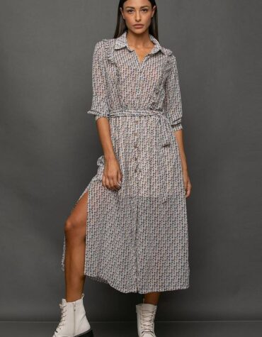 Naiba shirtdress