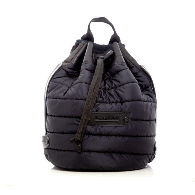 Puffer Backpack Black