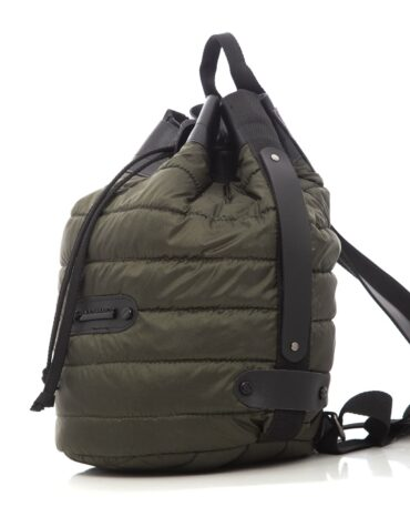 Puffer Backpack Khaki