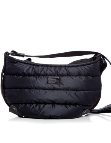 Puffer Body Bag Black Large