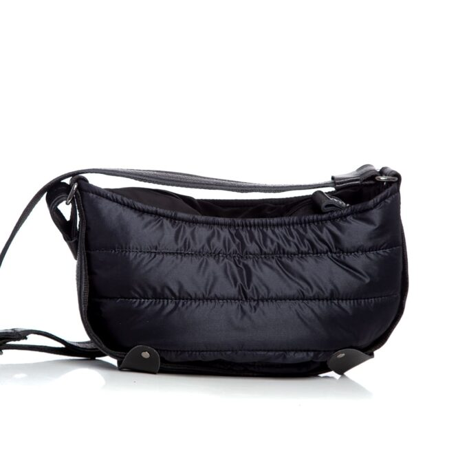 Puffer Body Bag Black Large