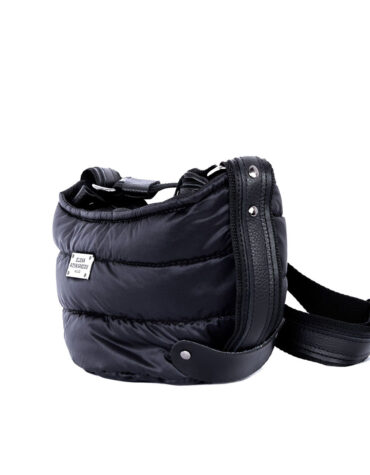 Puffer Body Bag Black Small