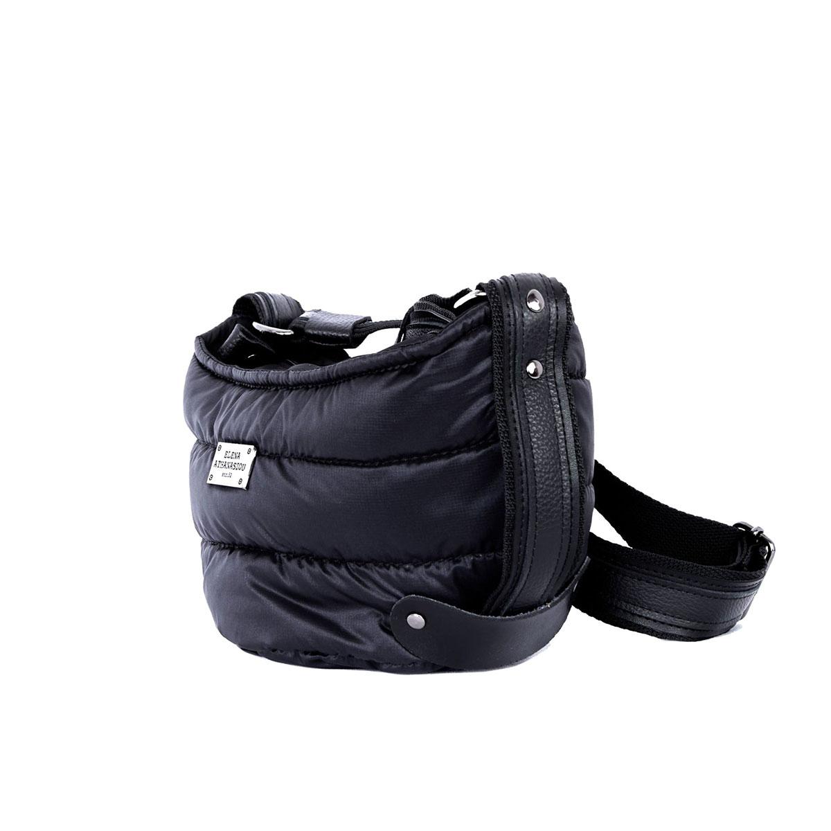 Puffer Body Bag Black Small