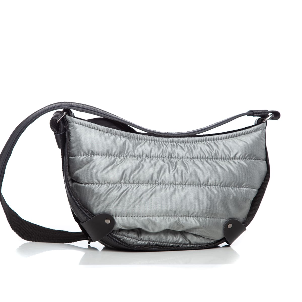 Puffer Body Bag Grey Large