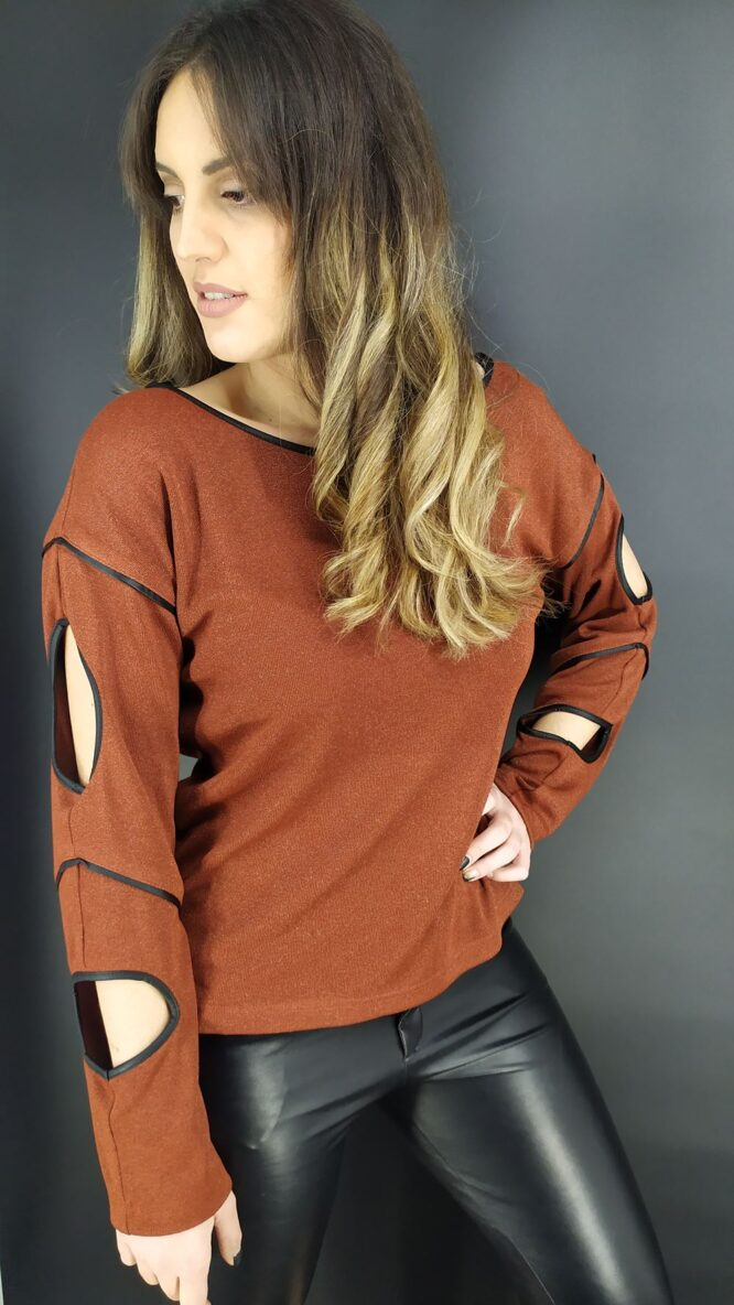 Velluto Rosso blouse