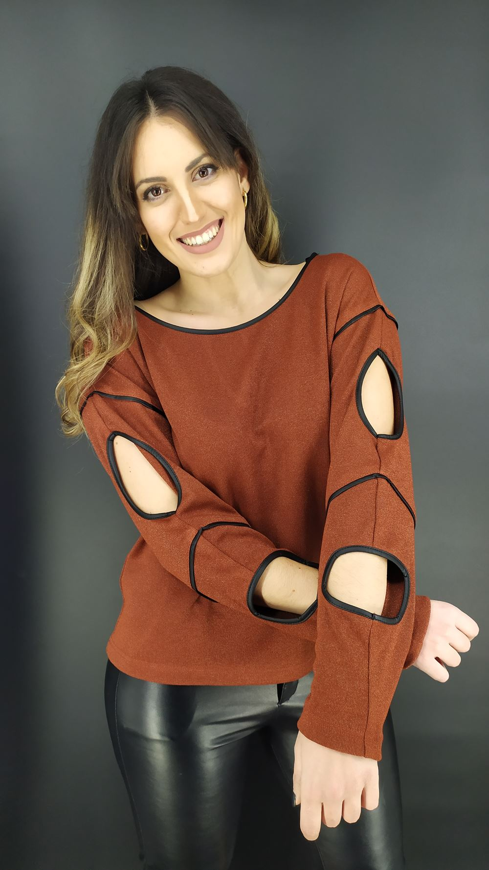 Μπλούζα Velluto Rosso