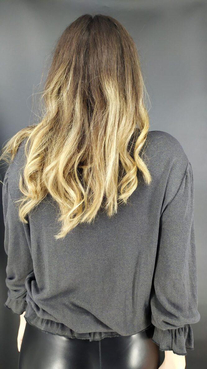 Velluto Rosso dark grey top
