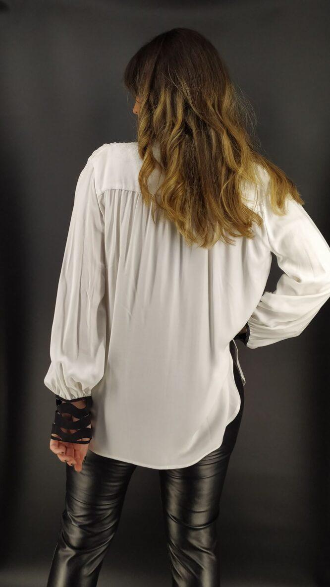 Velluto Rosso white shirt